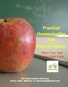 Homeschool Showcase: Practical Homeschooling Tips to Start Your Year on the Right Foot