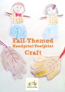 Easy Fall Handprint and Footprint Crafts