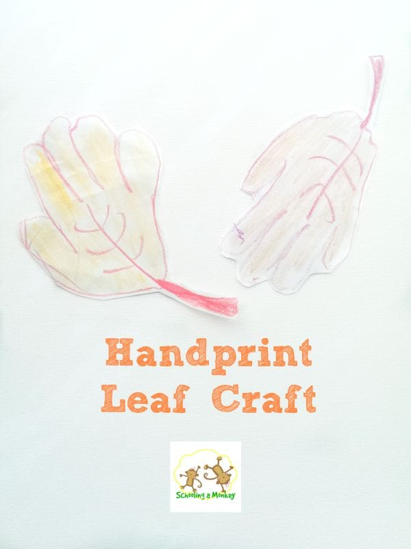 Do you love handprint and footprint crafts? Then you won't want to miss these super-easy scarecrows and leaves!