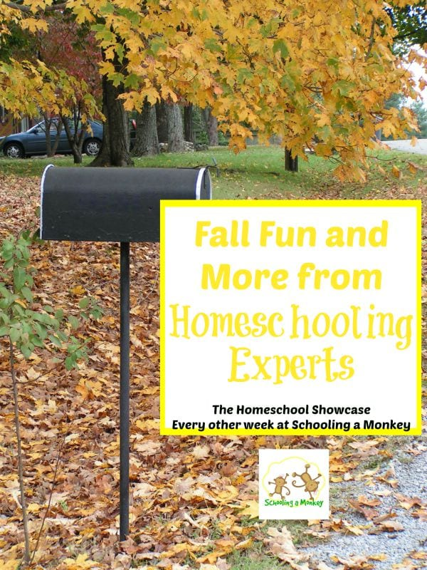 This edition of the Homeschool Showcase offers ideas for fall fun and other helpful resources from homeschooling experts.