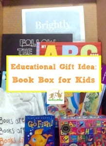 It's not too early to think about gifts for kids. Educational gift ideas are always a favorite at our house. This box of books fits the bill perfectly!