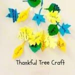 Thankfulness Tree Craft