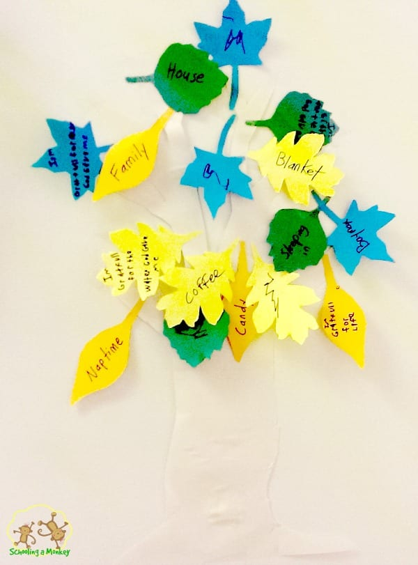 Want an easy way to promote thankfuless in your house this November? Celebrate by making your very own thankfulness tree craft or thankful tree craft!