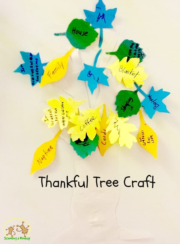 Thankfulness Tree Craft