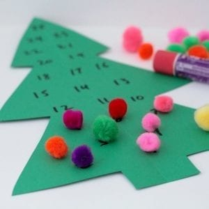 How to Make the Best Simple Christmas Tree Advent Calendar