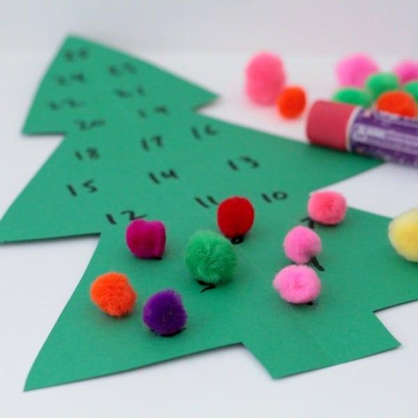 Simple Christmas Tree Christmas Countdown
