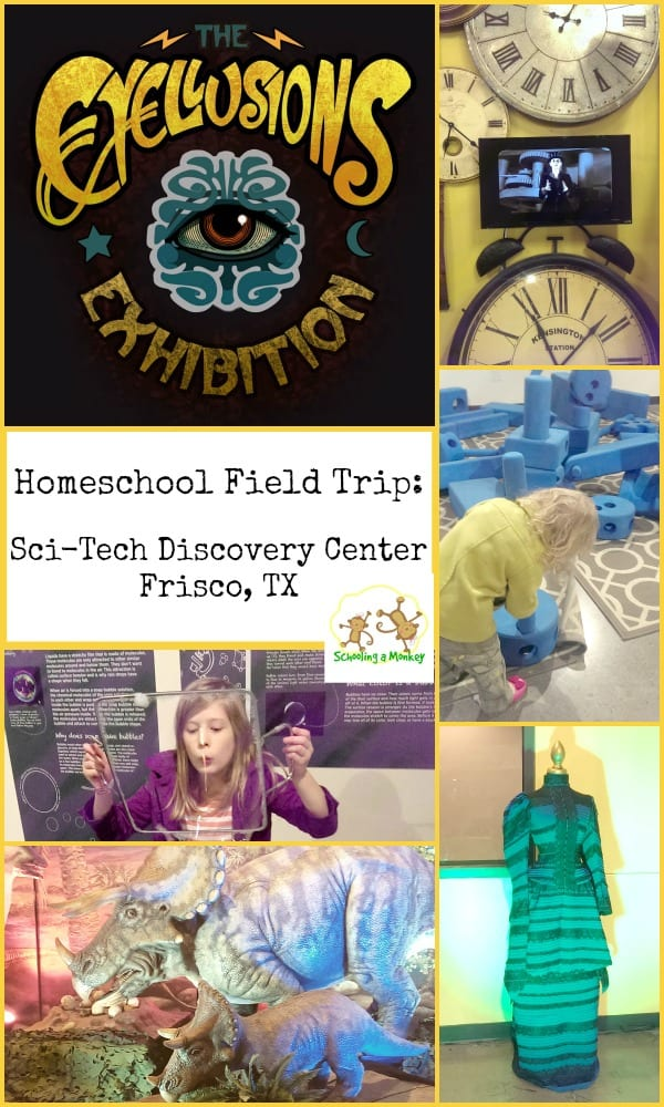 Live near Dallas, TX? The Frisco Sci-Tech Discover Center is now hosting the Eyellusions exhibit, the perfect place for a homeschool field trip!