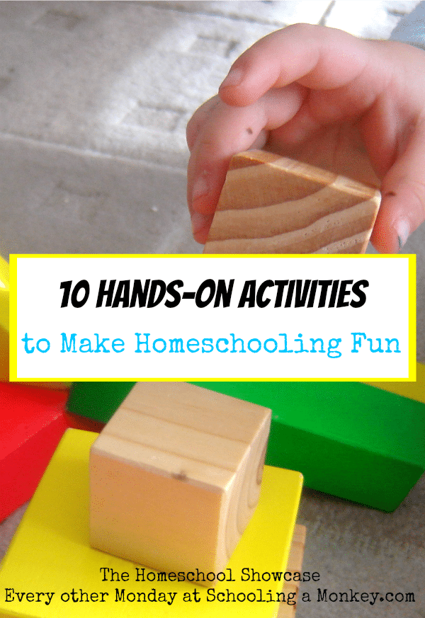 Looking for hands-on activities to make homeschooling fun? These hands-on projects are perfect for kids of all ages are are super easy, too!