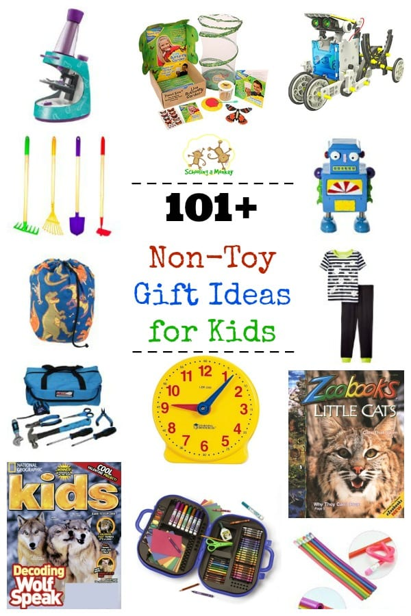 These non-toy gift ideas for kids will make