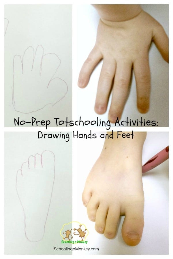 Homeschooling moms need to keep a variety of simple activities for toddlers on hand while the bigger kids do school. This one is the absolute easiest.