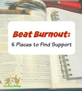 Beat Homeschool Burnout: 5 Support Resources