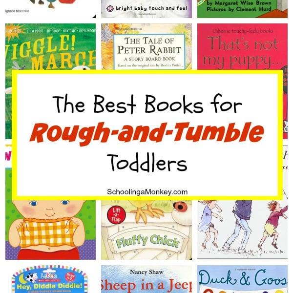 Sturdy Books for Destructive Toddlers
