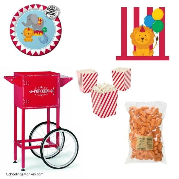 Planning a circus party? These are the must-have items you need to make your circus party a success.
