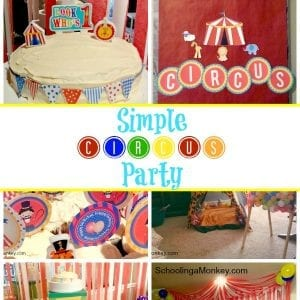 Creating a Kid's Circus Birthday Party