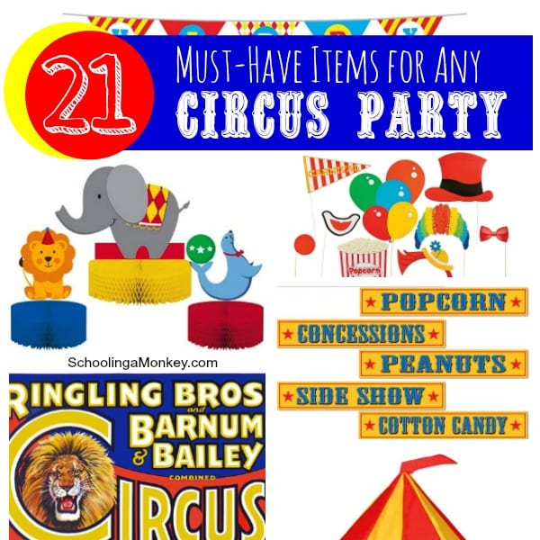 Must-Have Items for Any Circus Party