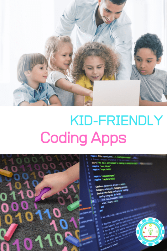 Want to help your kids learn to code but don't know where to start? These coding apps for kids provide an easy way to start coding with kids!