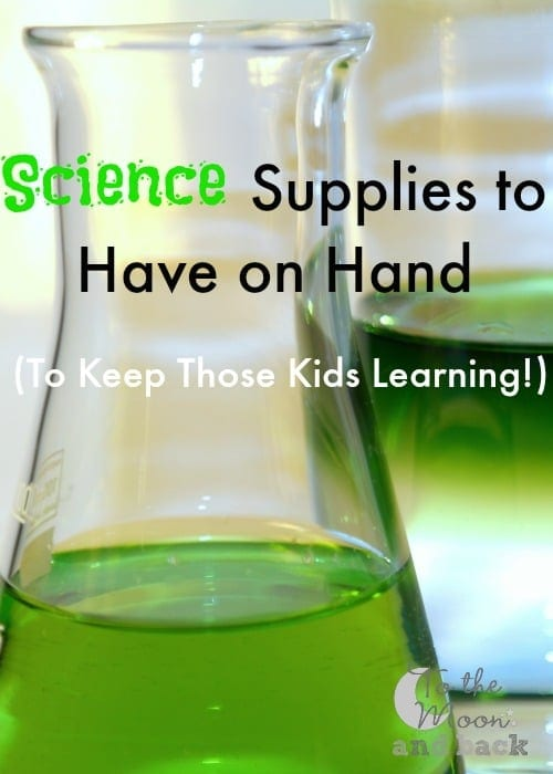 Looking for a STEM project supply list? Here you'll find the STEM supplies and science supplies you need to get your kids interested in STEM activities.