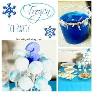 How to Throw a Simple Ice/Frozen Party