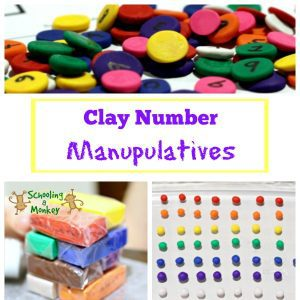 Hands-On Math: Clay Number Manipulatives