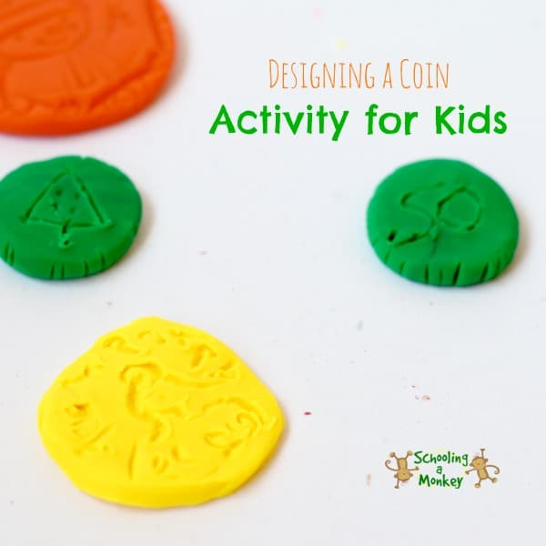 Design a Coin Activity for Kids