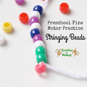 Fine Motor Practice: Bead Necklace