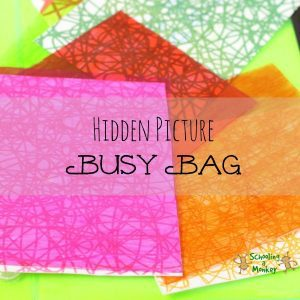 Hidden Picture Busy Bag