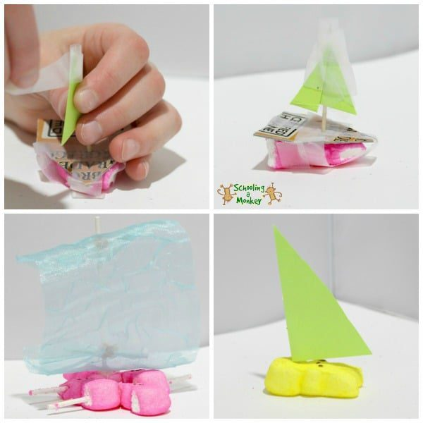 Love PEEPS®? Then you're going to love this fun PEEPS® boat engineering challenge! It's a fun way to learn about STEM activities during the spring.