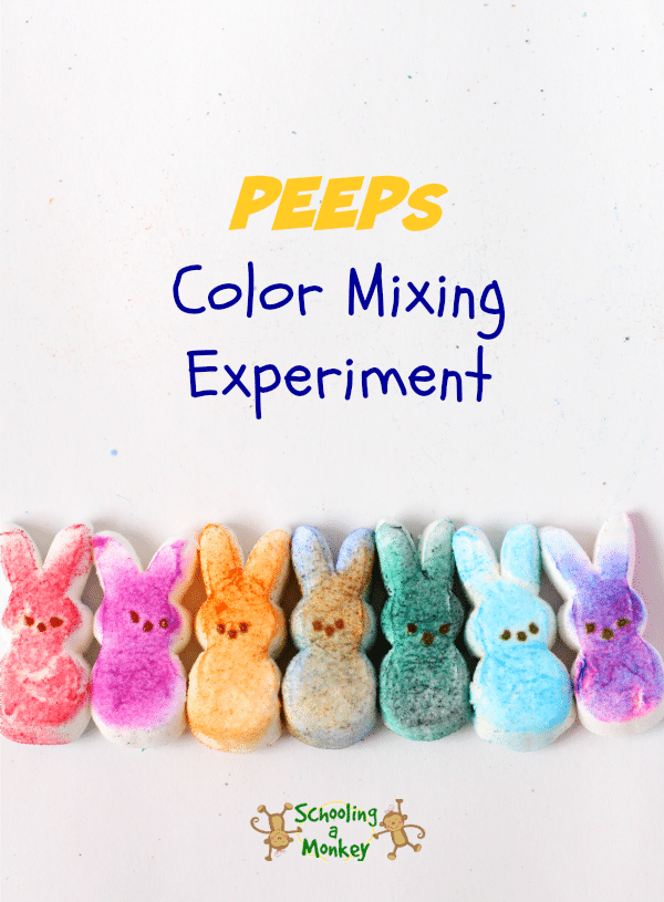 Looking for PEEPs activities for kids? These three PEEPs STEAM activities are perfect for kids of all ages and are the perfect way to use uneaten PEEPs.