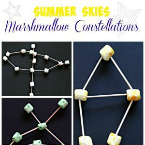 Summer Skies Marshmallow Constellations