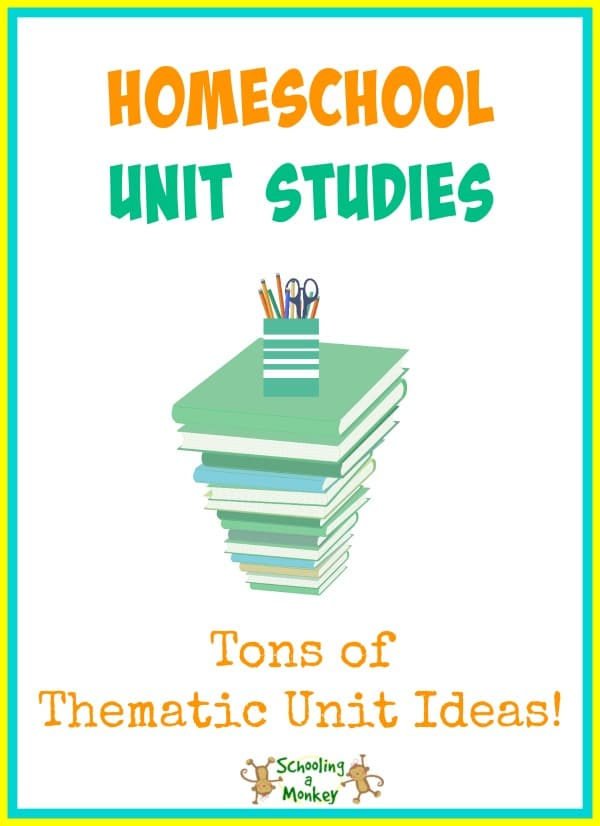 Board by textbook learning? Use these homeschool unit studies to make learning fun and put a little pep back into your homeschool!