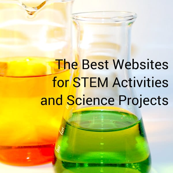 Looking for STEM activity ideas for kids? These are the best websites for STEM activities for kids of all ages. You will never run out of project ideas!