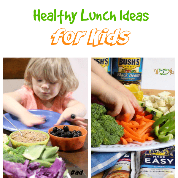 Sponsored: Kids Healthy Lunch Ideas with Hummus Made Easy