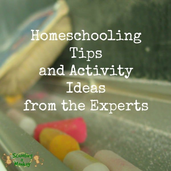 Homeschooling Tips and Activity Ideas from the Experts