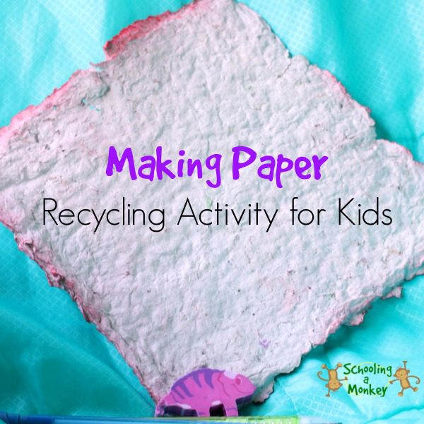 HOW TO MAKE RECYCLED PAPER AT HOME