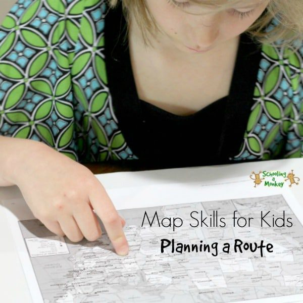 Map Skills for Kids: Planning a Route
