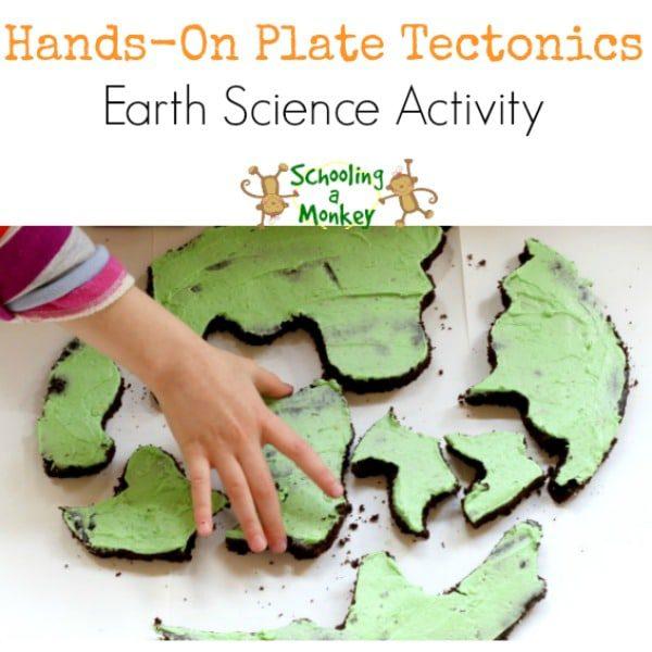 Edible Plate Tectonics Demonstration