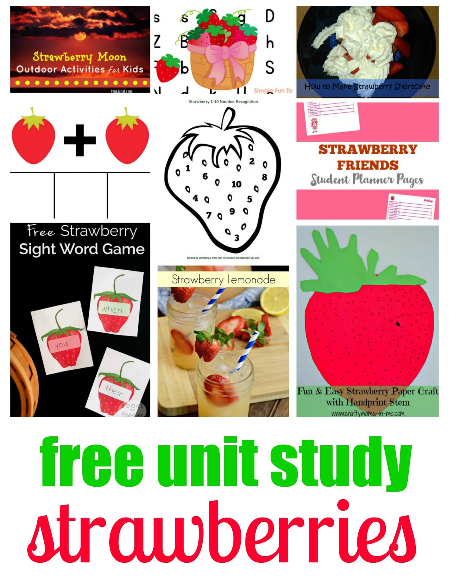 Love strawberries? Then you won't want to miss these strawberry math addition fact clip cards for preschoolers, kindergarten, and first grade!