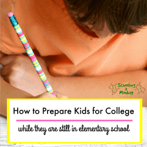 Homeschool College Prep in the Elementary Years