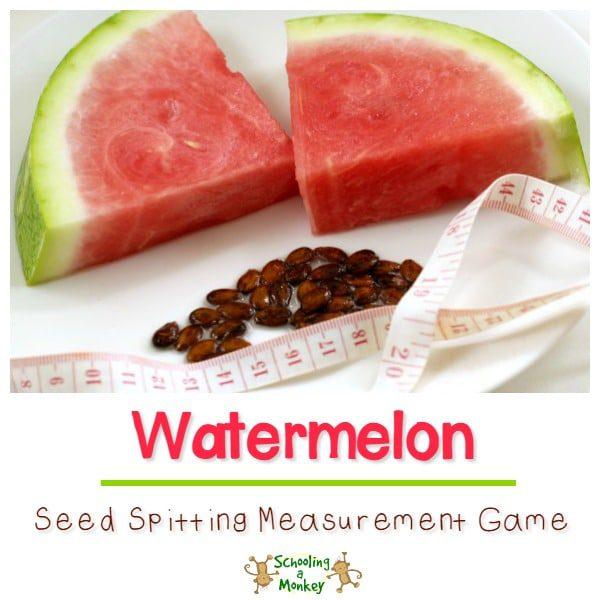 Watermelon Seed Spitting Math Game