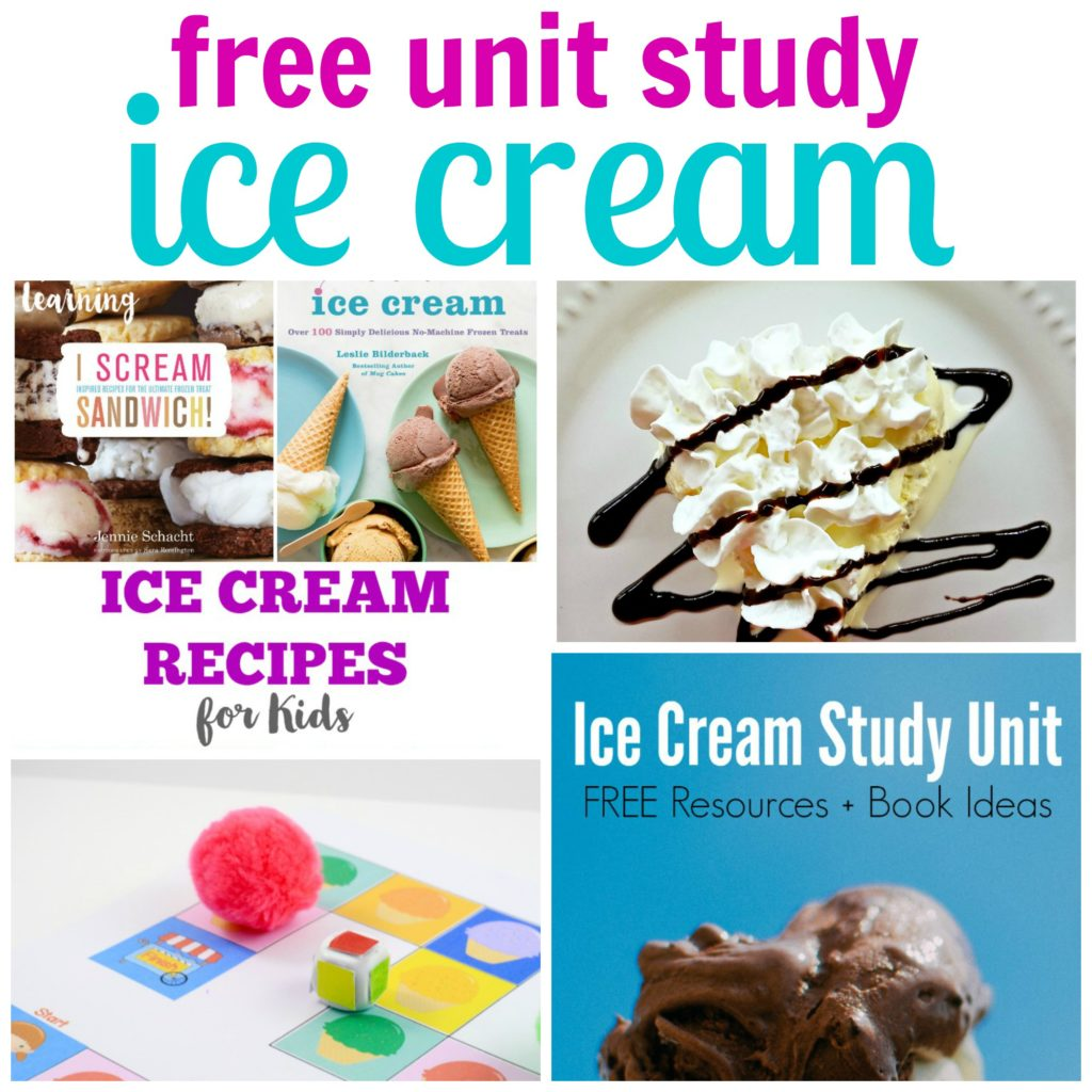 Unit study colors preschool - Ice Cream Unit Study Use This Printable Game To Teach Colors To Toddlers And Preschoolers The Ice Cream Game