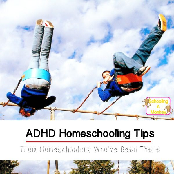 Have a child with ADHD? You can homeschool a child with ADHD! These ADHD homeschooling tips from homeschool parents will help guide you along the way.
