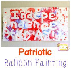 Patriotic Balloon Painting