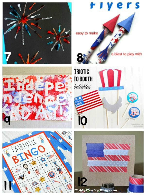 Patriotic crafts and patriotic activities for kids will make learning about America a lot more fun! These 4th of July craft ideas will last years.