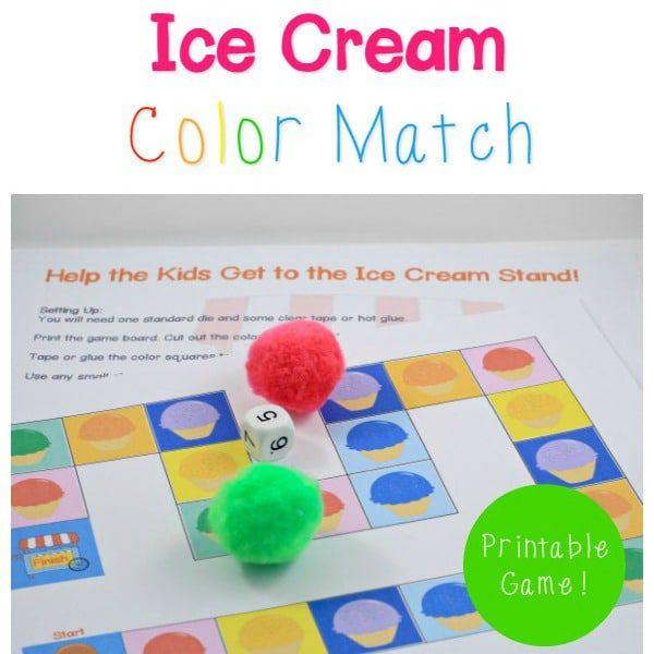 Color Identification STEM Game for Preschool