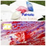 Patriotic Paint Bombs: A STEM Activity for Kids