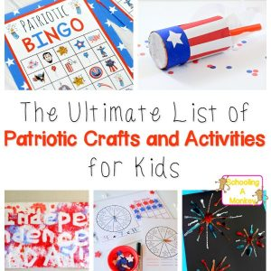 Patriotic Crafts and Activities for Kids