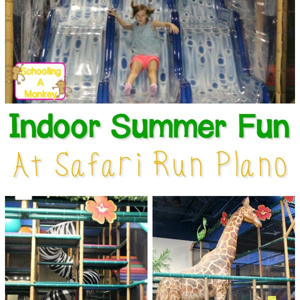 Dallas Indoor Activity Ideas: Safari Run Plano
