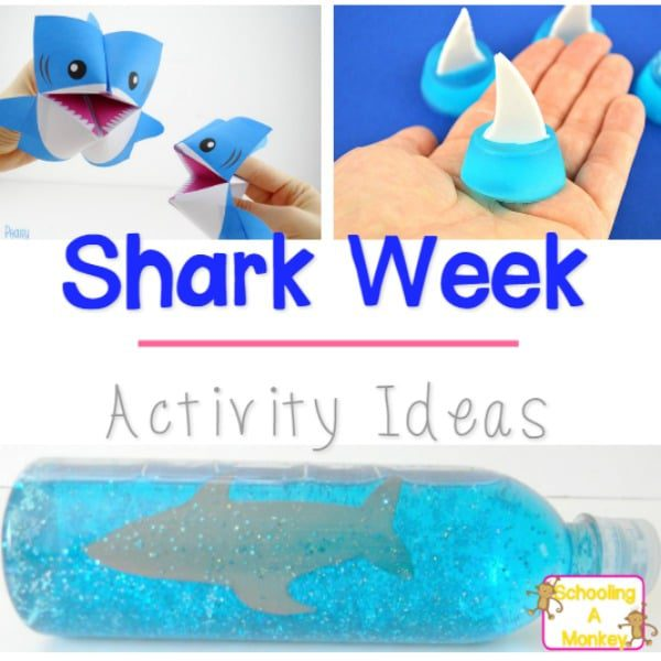Ridiculously Easy Shark Week Activities for Kids