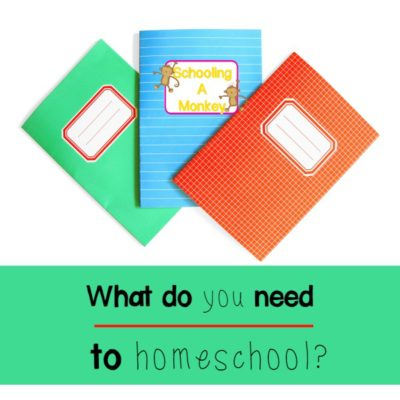 What Do You Need to Homeschool?