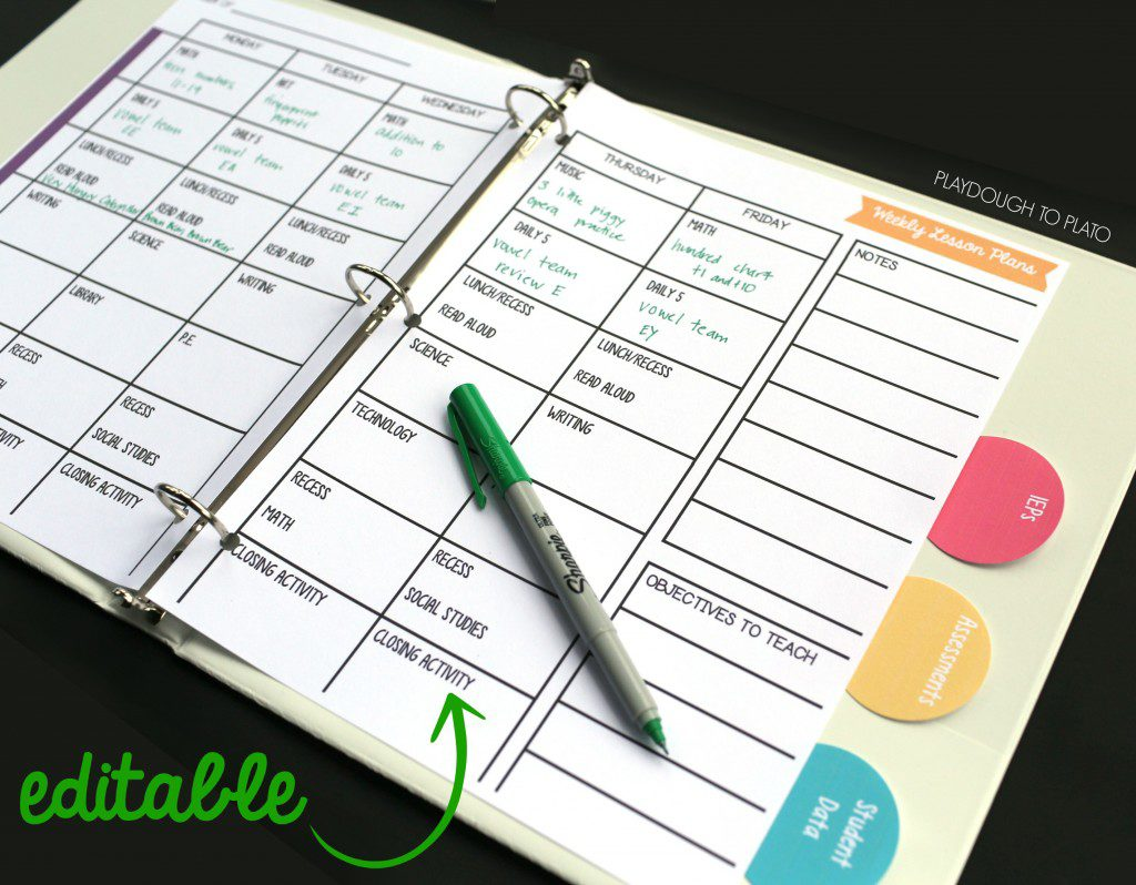 free printable homeschool planners for kids